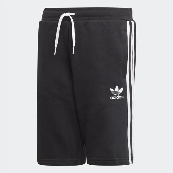 ADIDAS SHORT FLEECE - NERO/BIANCO - EJ3250