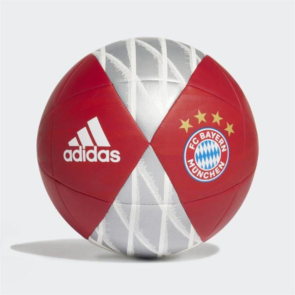 ADIDAS PALLONE BAYERN - ROSSO/ARGENTO - DY2526