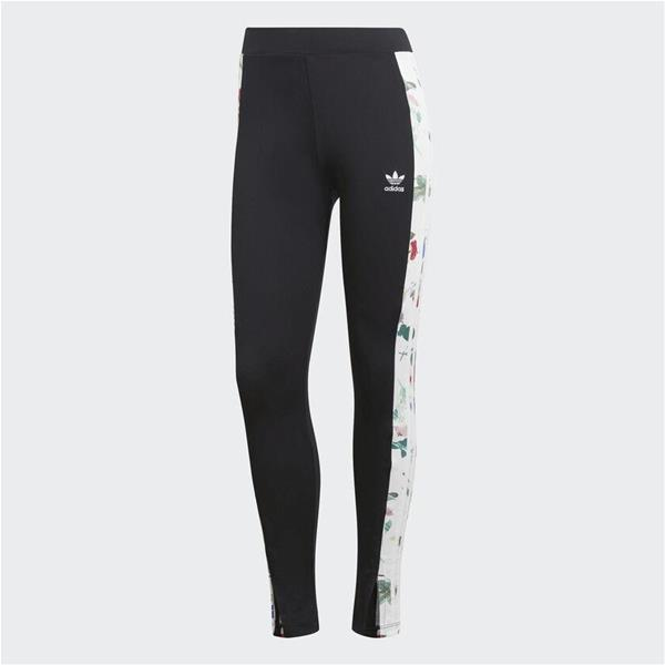 ADIDAS  LEGGINGS AOP - NERO/FANTASIA - ED4758