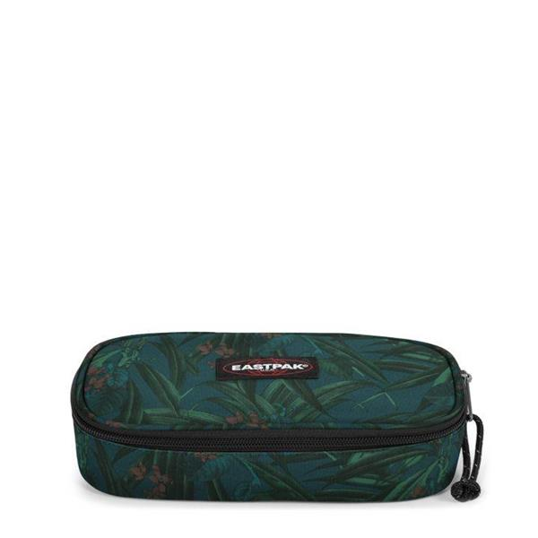 EASTPAK  ASTUCCIO OVAL SINGLE - BRIZE MEL DARK- VERDE FTS -  EK717-69X