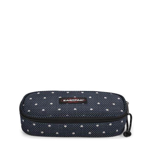 EASTPAK  ASTUCCIO OVAL SINGLE - LITTLE DOTT/NERO POIS -  EK717-87X