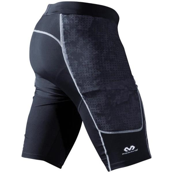 MC DAVID HEX GOALKEEPER SHORT BARCELLONA  - NERO -  7742R