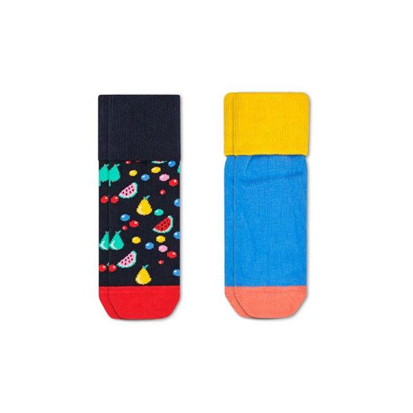 HAPPY SOCKS CALZINI FRUIT  KIDS ANTISCIVOLO - FANTASIA - 87419M140K-9300