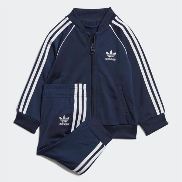 ADIDAS COMPLETO TRACK SUIT - BLU/BIANCO - ED7669