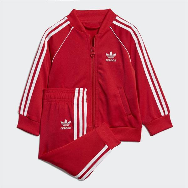 ADIDAS COMPLETO TRACK SUIT - ROSSO - EI9855