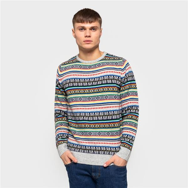 RVLT KNITTED SWEATER - MULTICOLOR - 6510