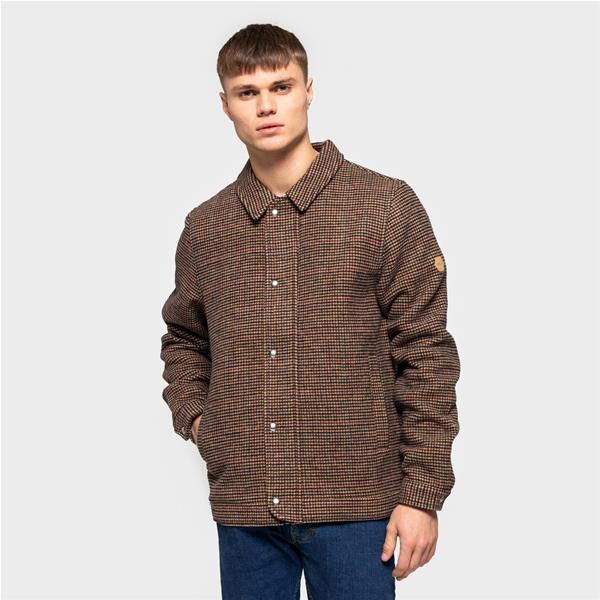 RVLT SHIRT JACKET - MARRONE - 7656-MARR