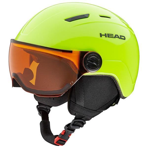 HEAD CASCO MOJO GIALLO FLUO 328118