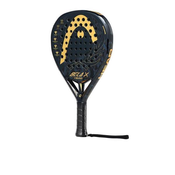 HEAD GRAPHENE 360+BELA X- NERO/ORO - 228130