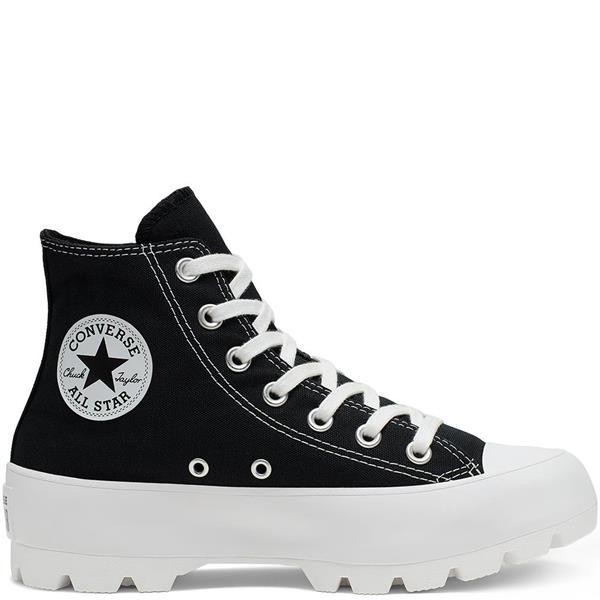 All Star HI Sneaker in Pelle e Suede Animaliér con Zip