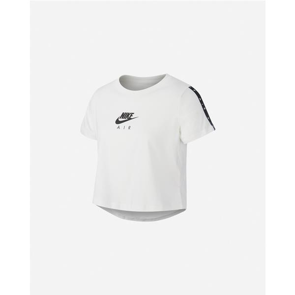 NIKE AIR T/SHIRT CROP - BIANCO - CT2778-100