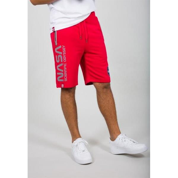 ALPHA INDUSTRIES ODYSSEY SHORT - ROSSO - 126336-328