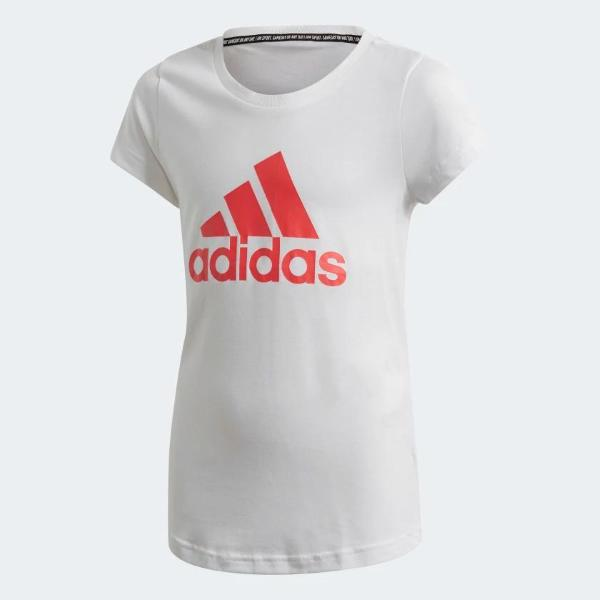 ADIDAS T/SHIRT MUST HAVES- BIANCO/ROSA - FM6509