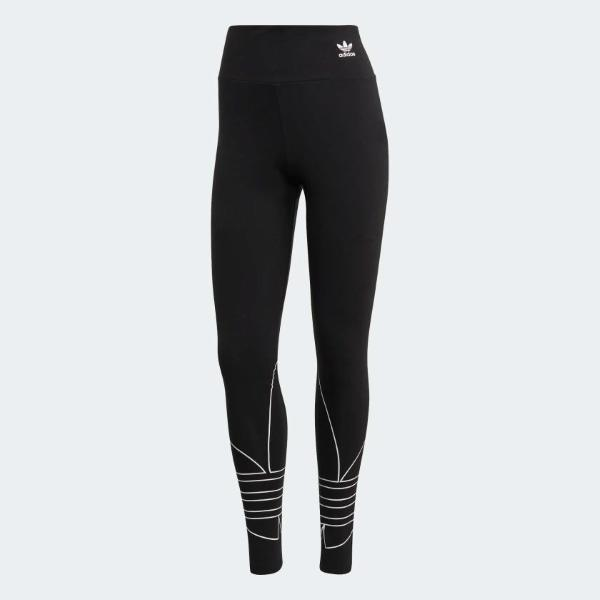 ADIDAS ADICOLOR TIGHT LARGE LOGO- NERO - GD2252