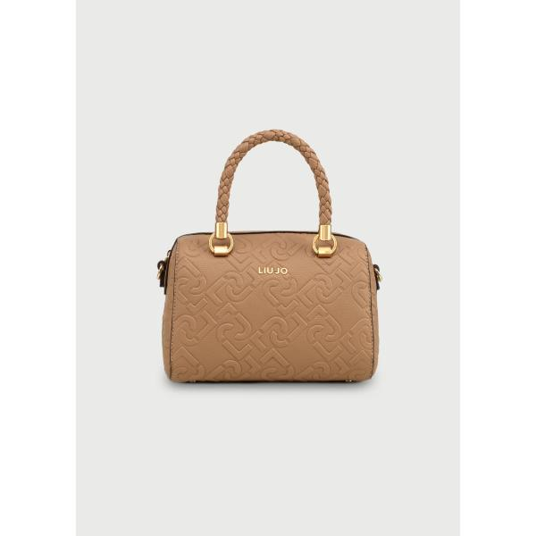 LIU JO MINI BAULETTO CON LOGO - INDIAN TAN - NF0021E0538-71328