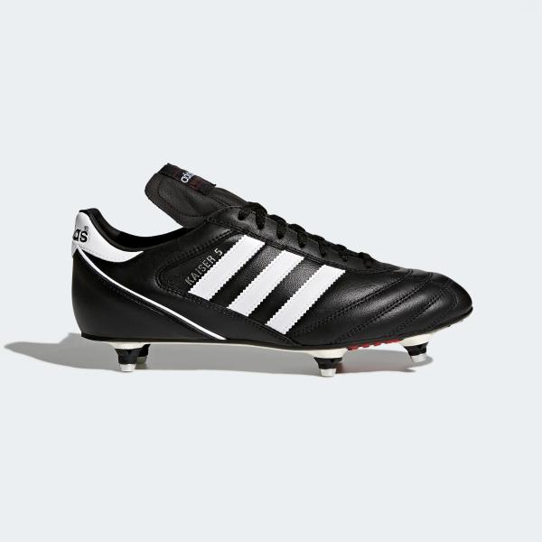 ADIDAS KAISER 5 CUP AVVITABILE - NERO/BIANCO/ROSSO - 033200