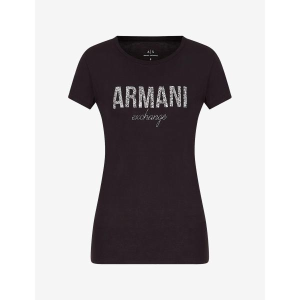 A/X T SHIRT LOGO  STAMPA -NERO - 8NYT98Y9C8Z-1200