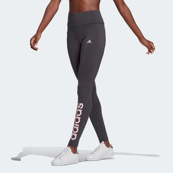 ADIDAS LEGGINGS W LIN - ANTRACITE/ROSA - GQ9355