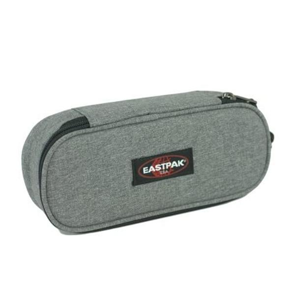 EASTPAK  ASTUCCIO OVAL SINGLE  - SUNDAY GREY grigio melange - CODICE EK717-363