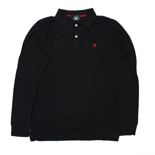 BEVERLY HILLS POLO PIQUET - NERO - BHPC4300-NE