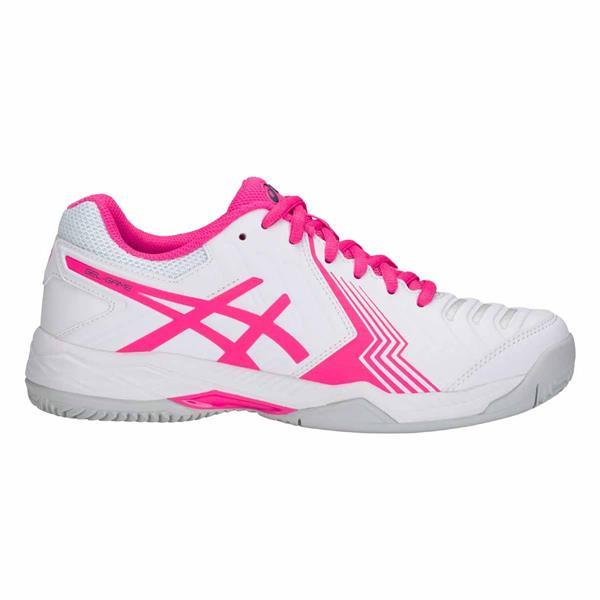 ASICS GEL GAME 6 CLAY - BIANCO/FUXIA - E756Y-100