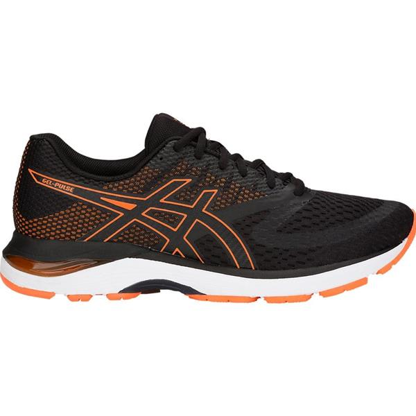 ASICS GEL PULSE 10 - NERO/ARANCIONE - 1011A007-001