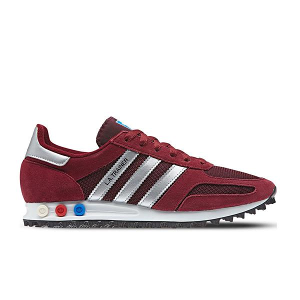 ADIDAS LA TRAINER  - BORDEAUX/BIANCO - AQ1182