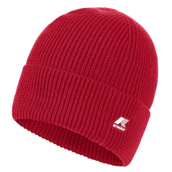 KWAY CAPPELLO BRICE CARDIGAN STITCH - ROSSO - K0090G0-700