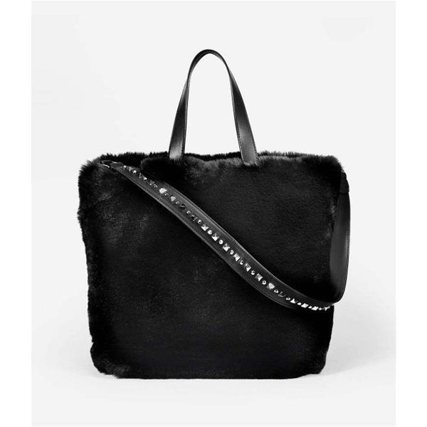 ASH BORSA SECRET HOBO - NERO - F80068-06