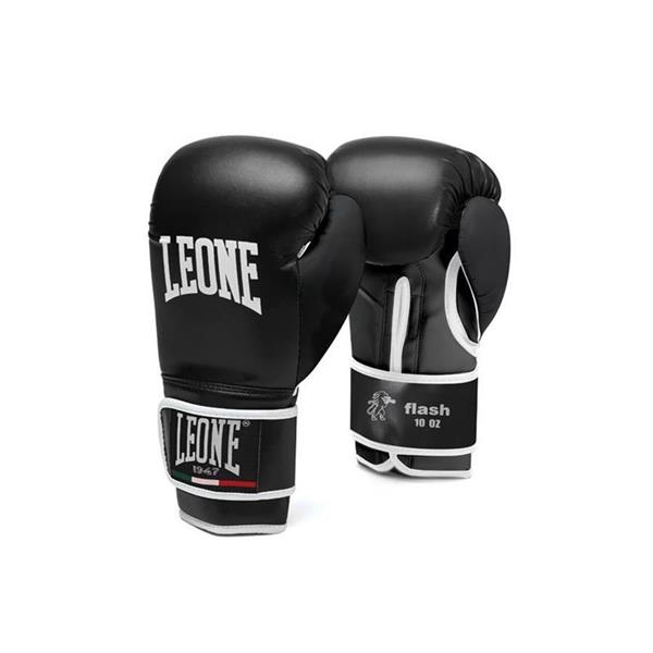 LEONE GUANTONI BOXE FLASH 8OZ - NERO -GN083-01/08