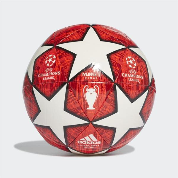 ADIDAS PALLONE UCL FINALE - ROSSO/BIANCO - DN8674