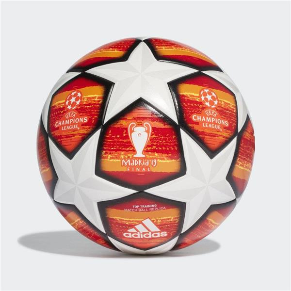 ADIDAS PALLONE UCL FINALE MADRID TOP  - ROSSO/BIANCO - DN8676