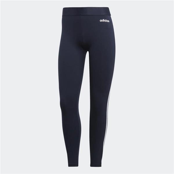 ADIDAS LEGGINGS ESSENTIALS TRE STRISCE - BLU - DU0681