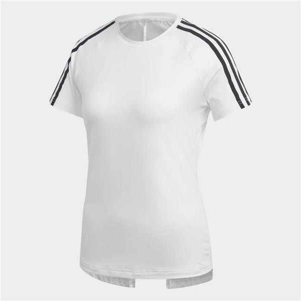 ADIDAS T-SHIRT 3 MOVE 3-STRIPES - BIANCO/NERO - DS8723