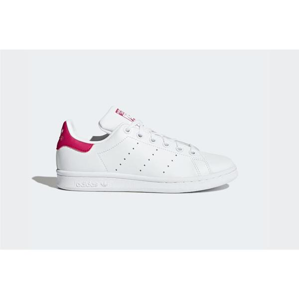 ADIDAS STAN SMITH GIRL - BIANCO/FUXIA -  B2703