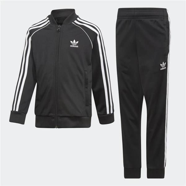 ADIDAS COMPLETO TRACK SUIT SST - NERO - DV2849