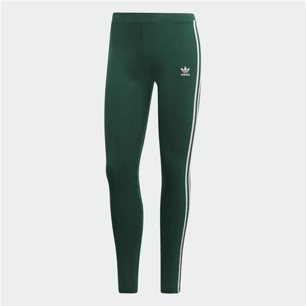 ADIDAS  LEGGINGS 3 STRIPES - VERDONE - DV2613