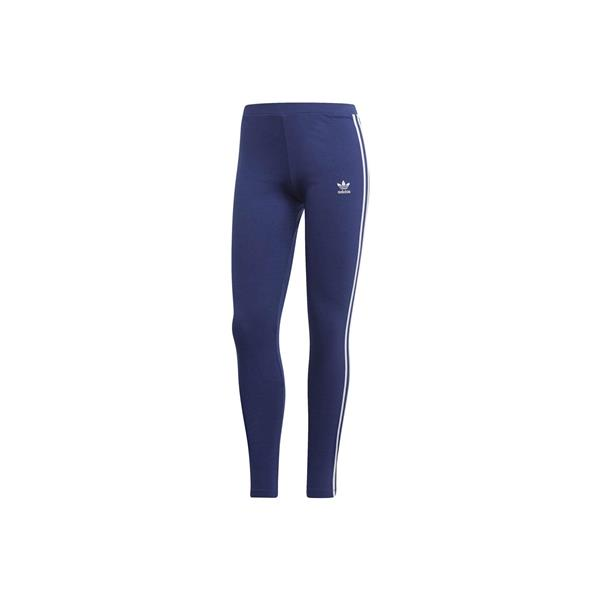 ADIDAS  LEGGINGS 3 STRIPES - BLU - DV2615