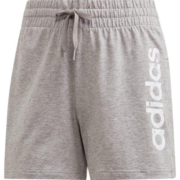 ADIDAS ESSENTIALS SOLID SHORT - GRIGIO MELANGE - DU0674