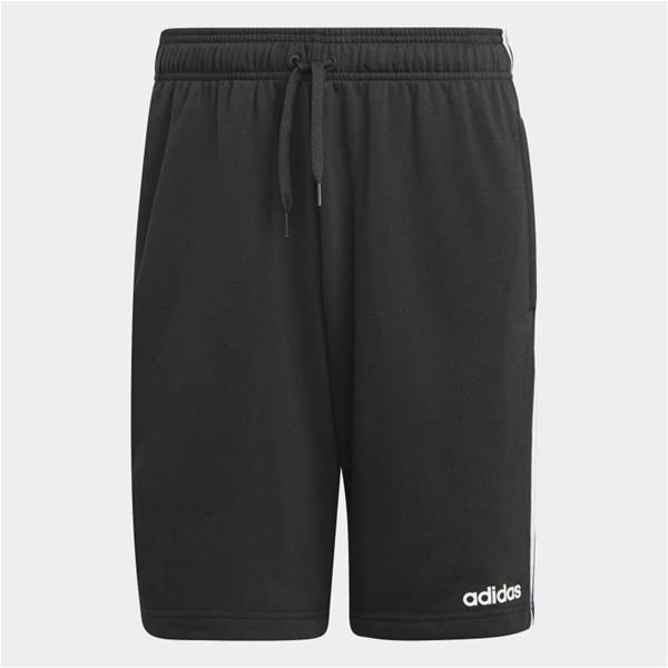 ADIDAS SHORT ESSENTIALS 3-STRIPES - NERO - DU7830