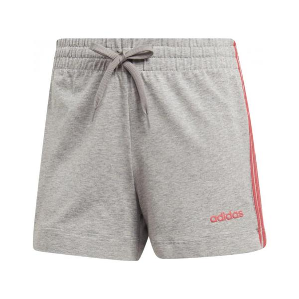 ADIDAS ESSENTIALS 3-STRIPES SHORT - GRIGIO MELANGE - DU0672