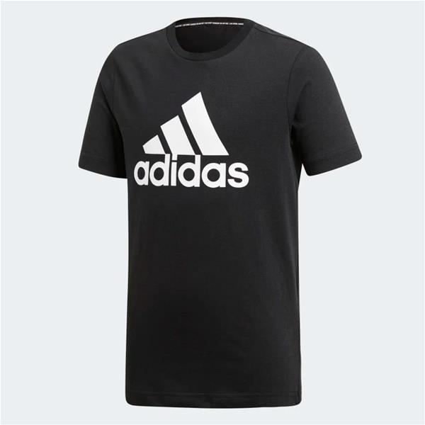 ADIDAS T-SHIRT MUST HAVES - NERO/BIANCO - DV0816