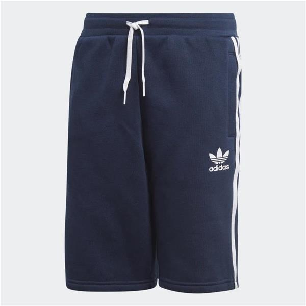 ADIDAS SHORT FLEECE - BLU/BIANCO - EJ3249