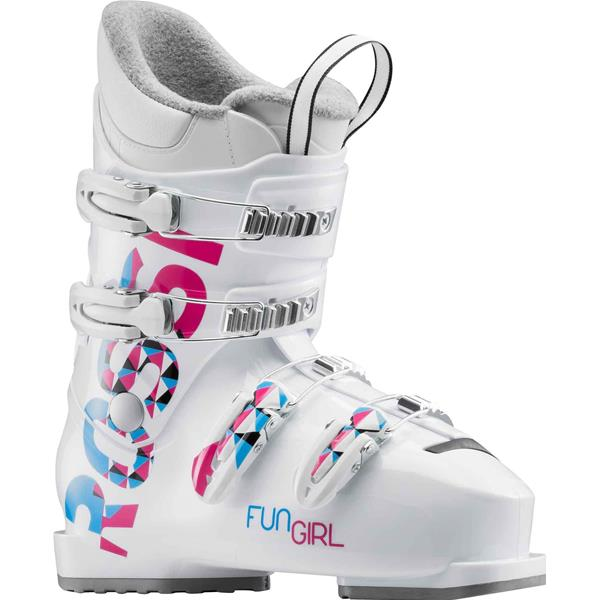 ROSSIGNOL FUN GIRL J4 - BIANCO/FUXIA/TURCHESE - RBG5080