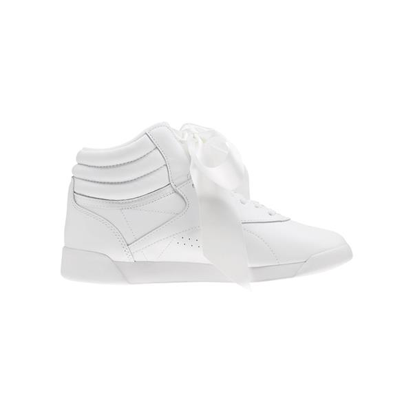 REEBOK FREESTYLE HI SATIN BOW - BIANCO - CM8903