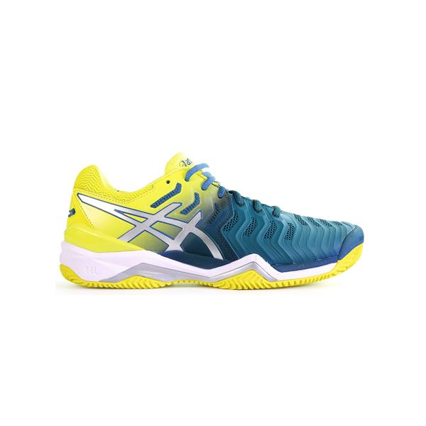 ASICS GEL RESOLUTION 7 - BLU/GIALLO - E702Y-4589