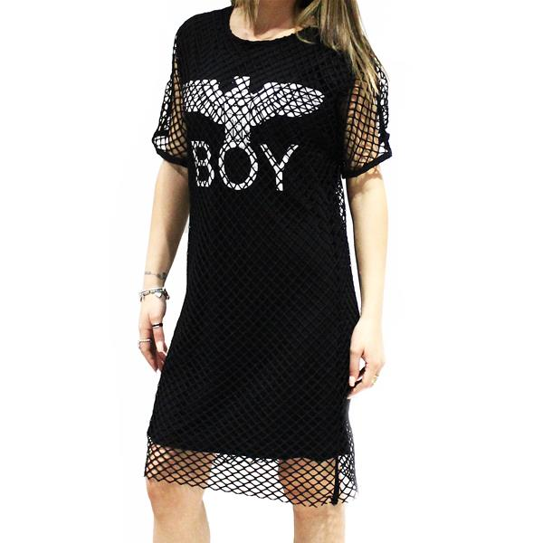 BOY LONDON ABITO JERSEY RETE M/M - BL1166-NE