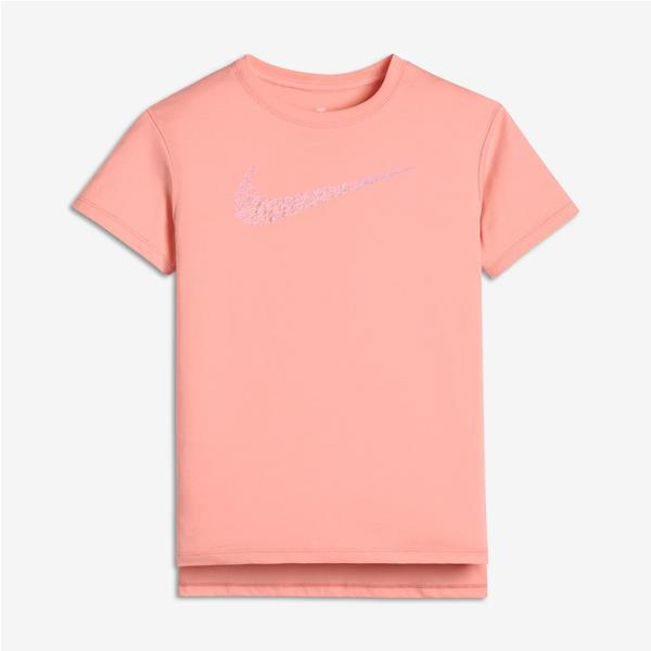 NIKE T-SHIRT SQUIGGLE GIRL - ROSA - 913193-697